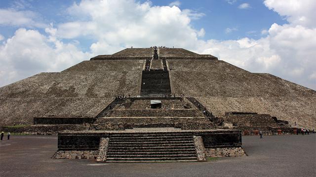 Resultado de imagen para piramides del sol