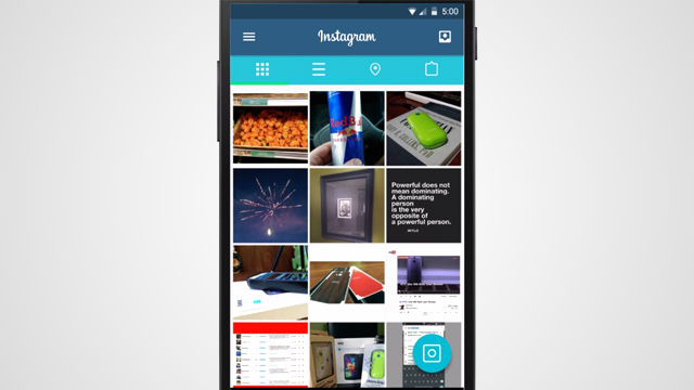 C mo se ver a instagram con el nuevo dise o de android for Codigo nuevo instagram