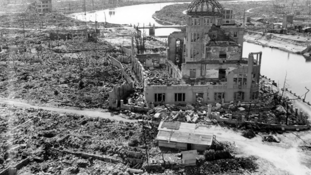 Hisroshima despues de la Bomba atómica