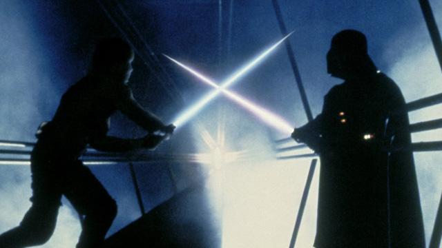 Pelea de Luke y Darth Vader