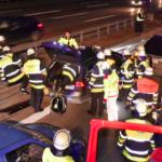 Un alemán destruyó su Tesla S para salvar la vida de otro conductor