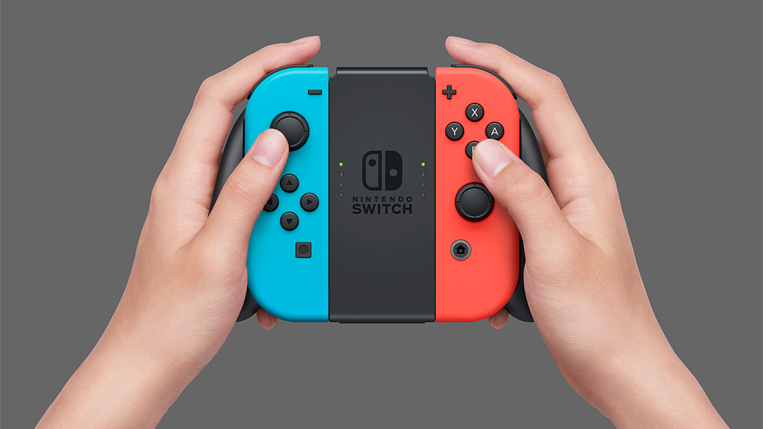 El control de la Nintendo Switch