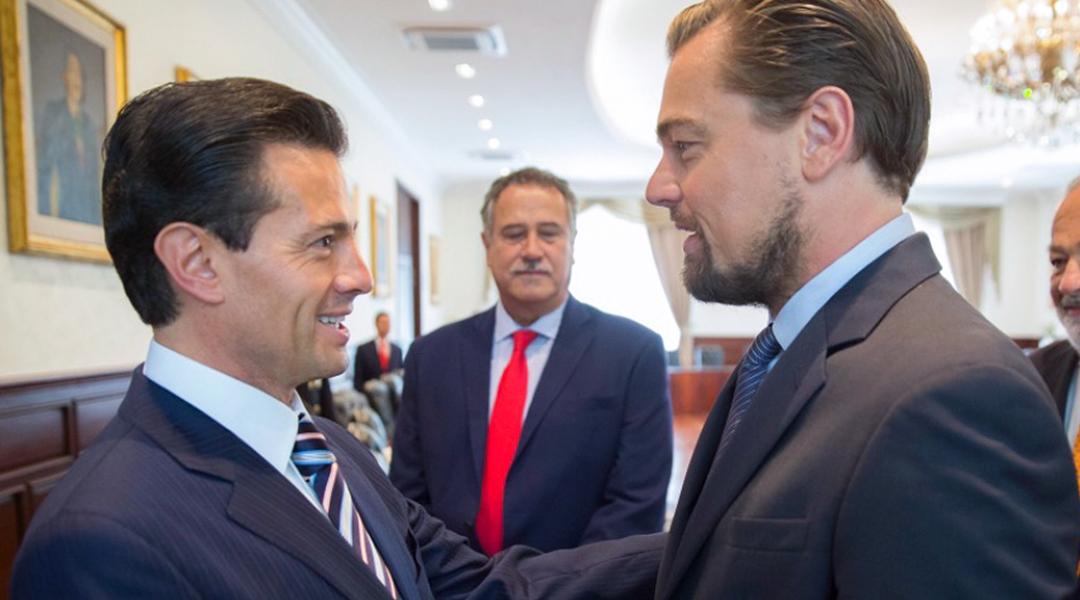 Así es como DiCaprio, Slim y Peña Nieto piensan salvar a la vaquita marina