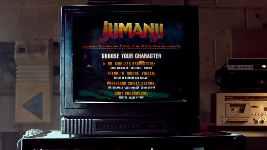Una imagen de la nueva Jumanji