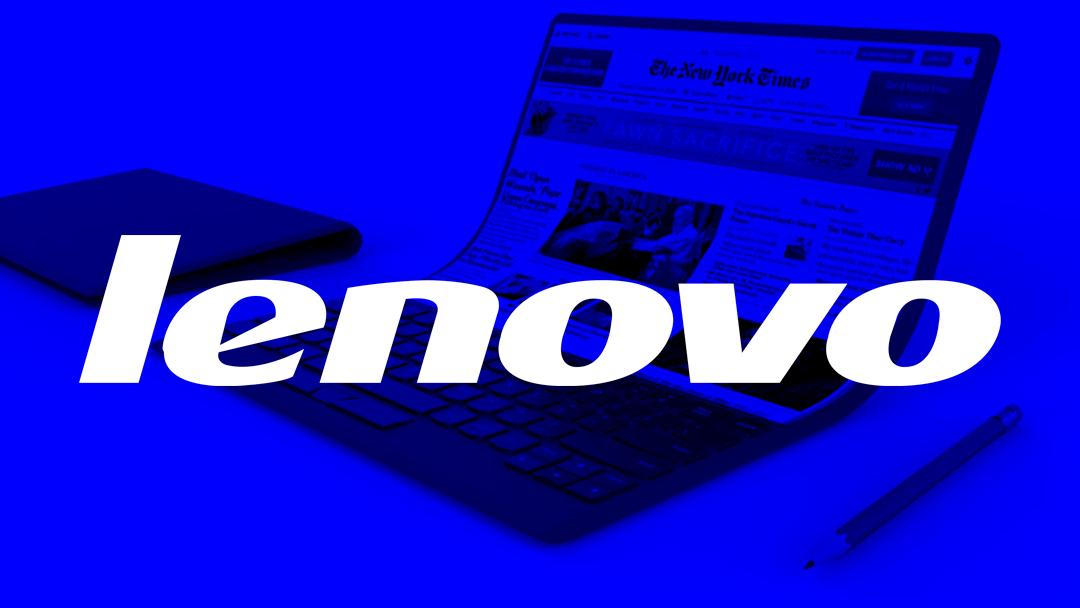 Lenovo apostará hacia el futuro con esta laptop plegable