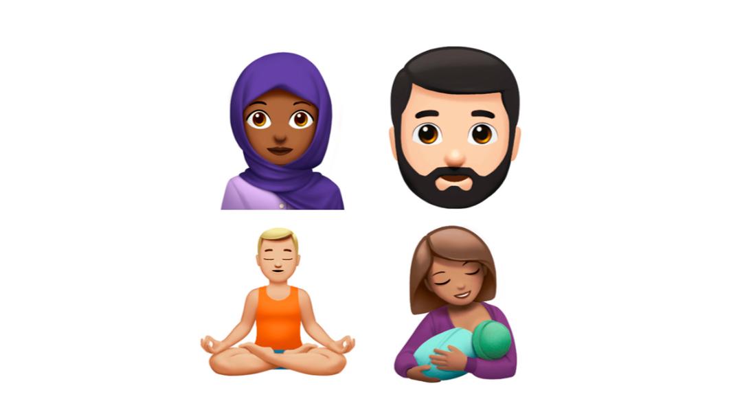 Estos son los nuevos emojis de Apple que llegarán en otoño