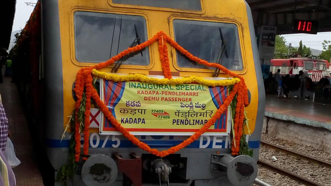 El primer tren de energía solar de la India ya está funcionando