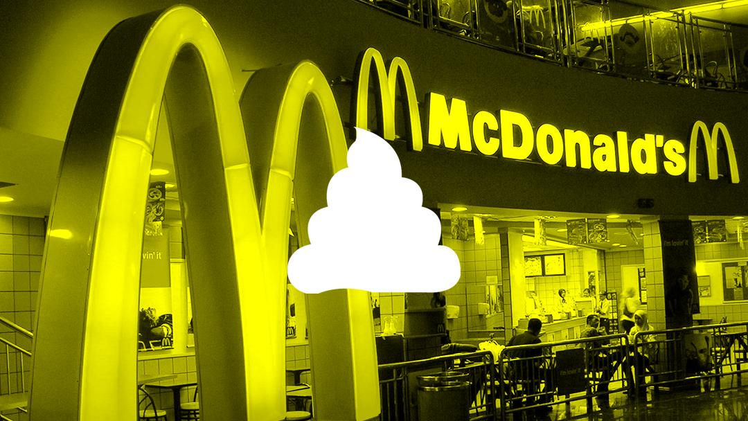 Ahora encuentran heces en los hielos de McDonalds, KFC y Burger King