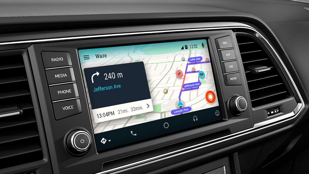Waze llega por fin a Android Auto