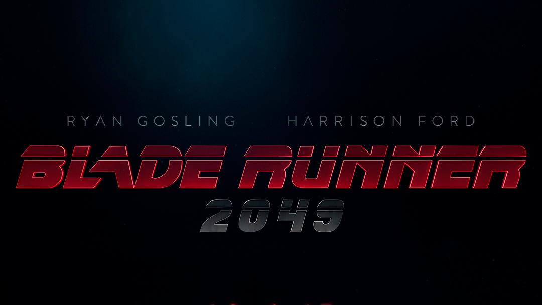 logo oficial de Blade runner 2049
