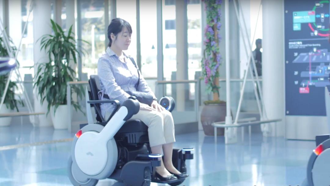 Silla de ruedas autónoma creada por Panasonic