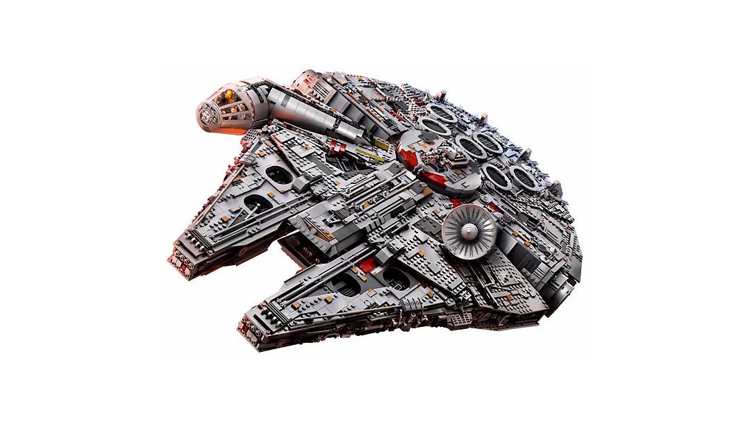El nuevo Halcón Milenario de Lego es el más grande