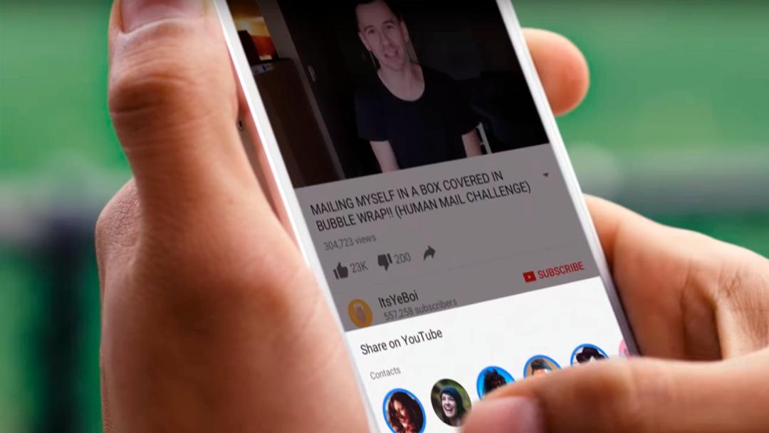 YouTube está añadiendo un chat en su aplicación