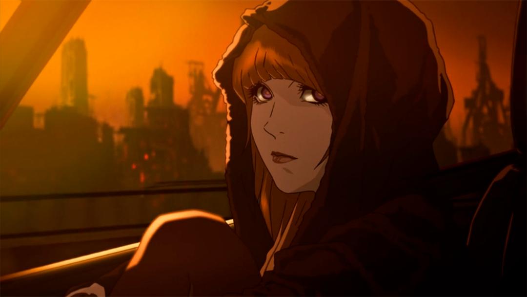 La protagonista del corto animado basado en Blade Runner