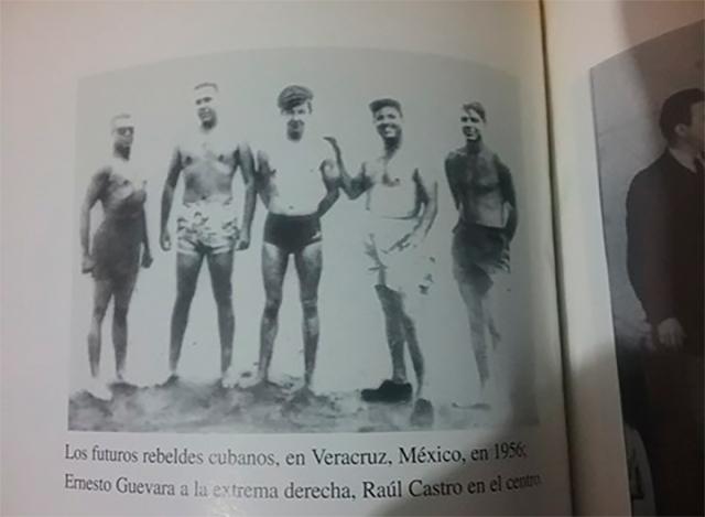 Los guerrilleros en la epoca que entrenaban lucha