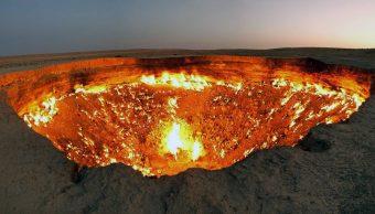 La puerta al Infierno: el cráter que no deja de arder nunca