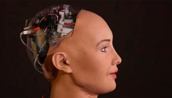 EL Robot Sophia, una androide que puede hablar