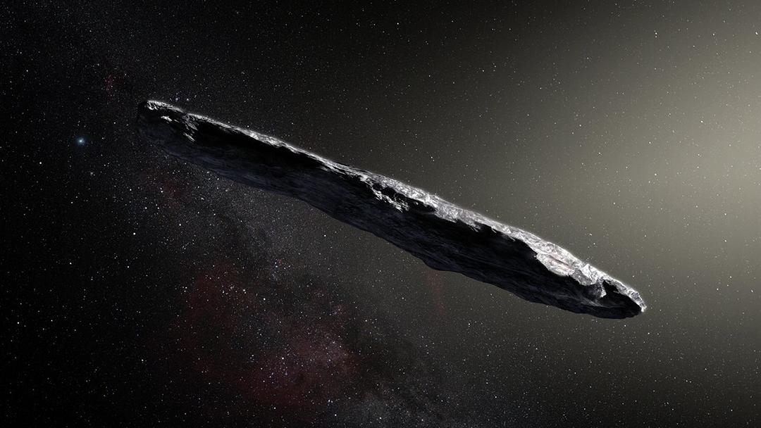 El primer asteroide que no pertenece a nuestro sistema solar es extraño