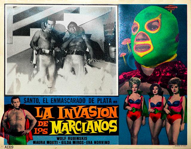 Santo contra la invasión de los marcianos