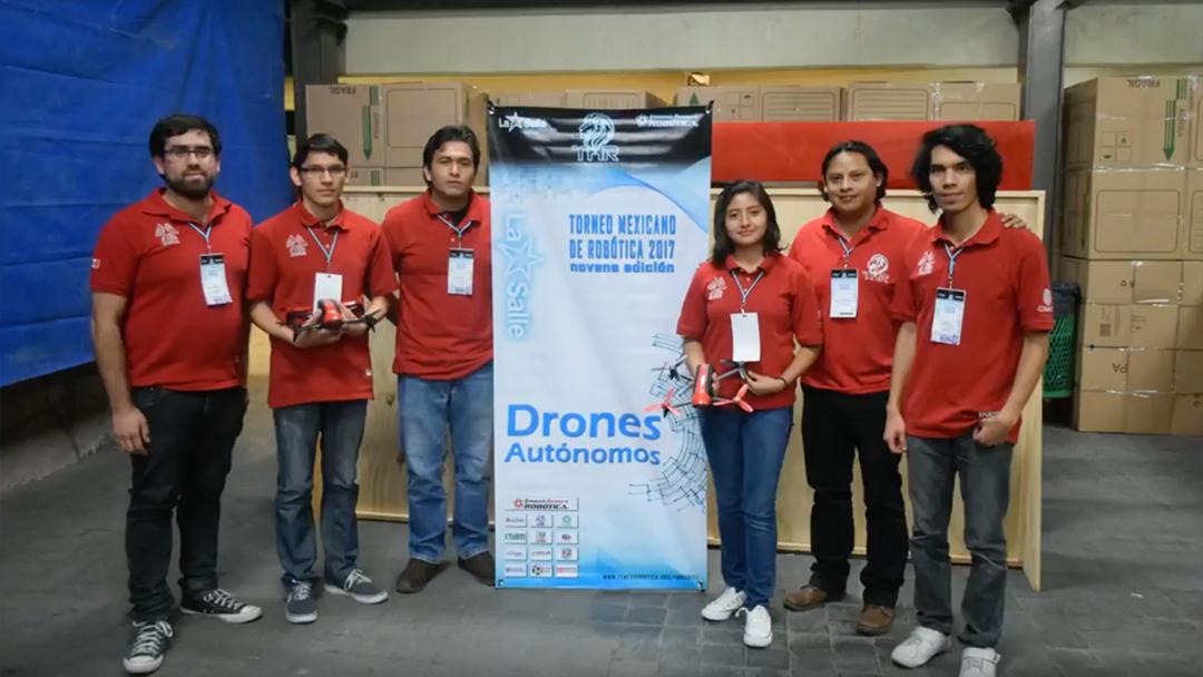 Mexicanos ganan competencia mundial de drones en Canadá