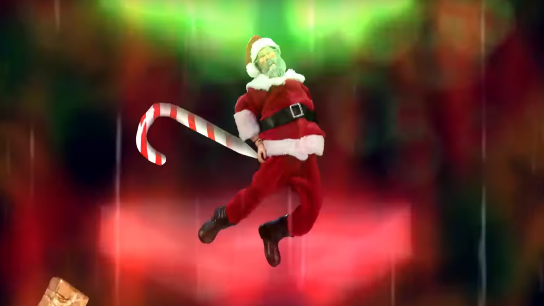 pollo robot Santa