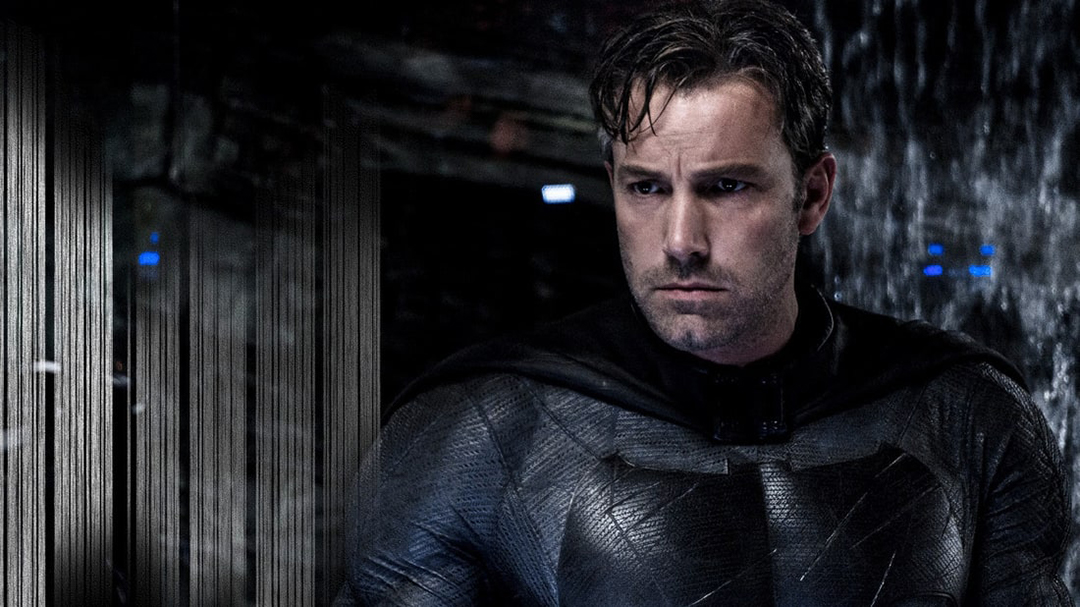 Escena de Batman v Superman, con Ben Affleck