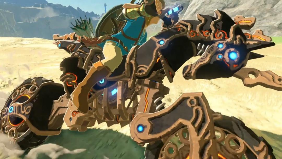 Zelda Motorrad