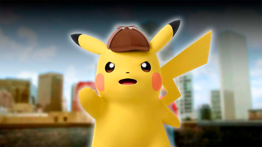Una imagen del famoso Detective Pikachu