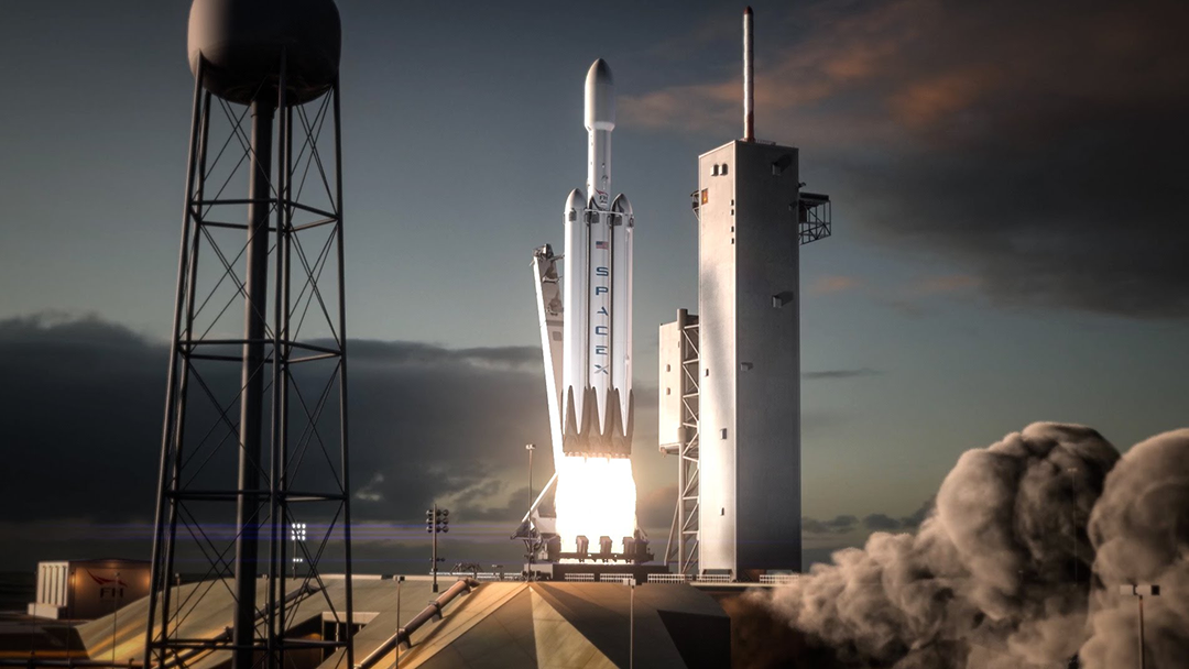 SpaceX retrasará el lanzamiento del Falcon Heavy por culpa del gobierno estadounidense