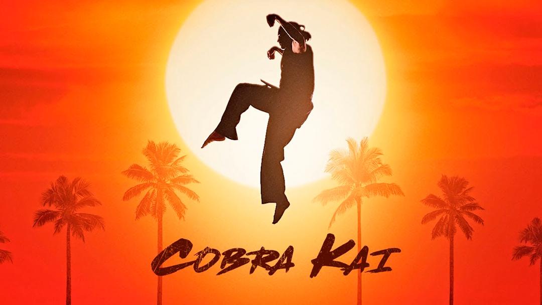 Imagen promocional de la serie Cobra Kai