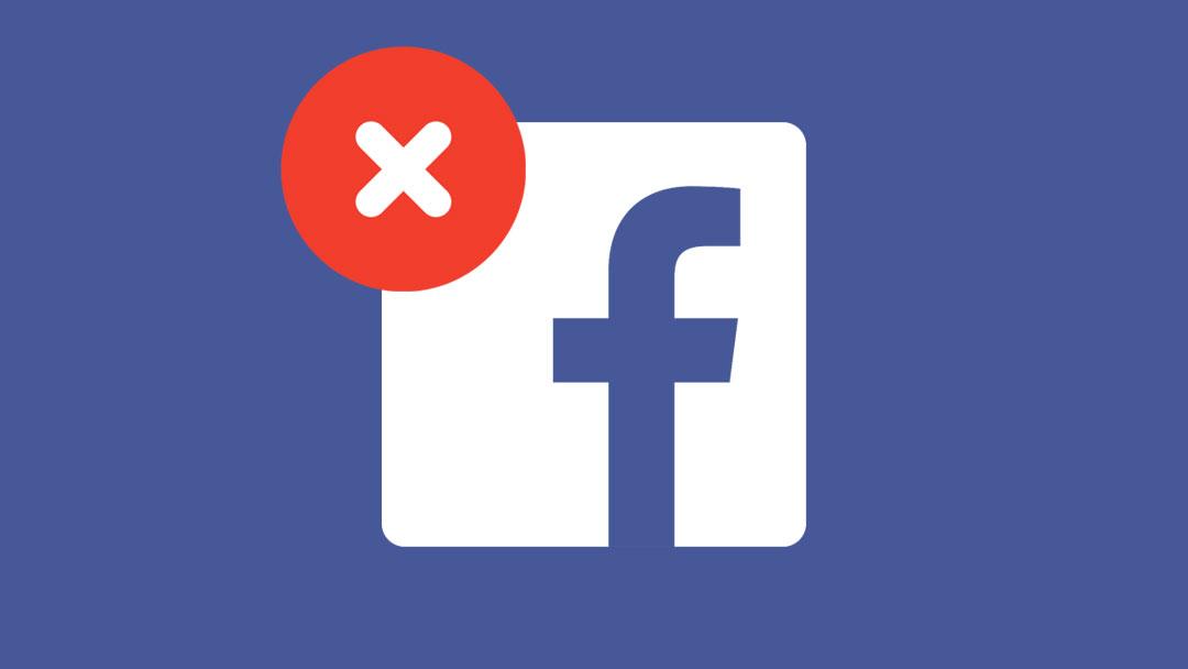Eliminar cuenta facebook