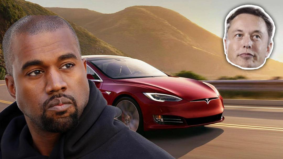 Kanye West dice que ama su Tesla y agradece a Elon Musk