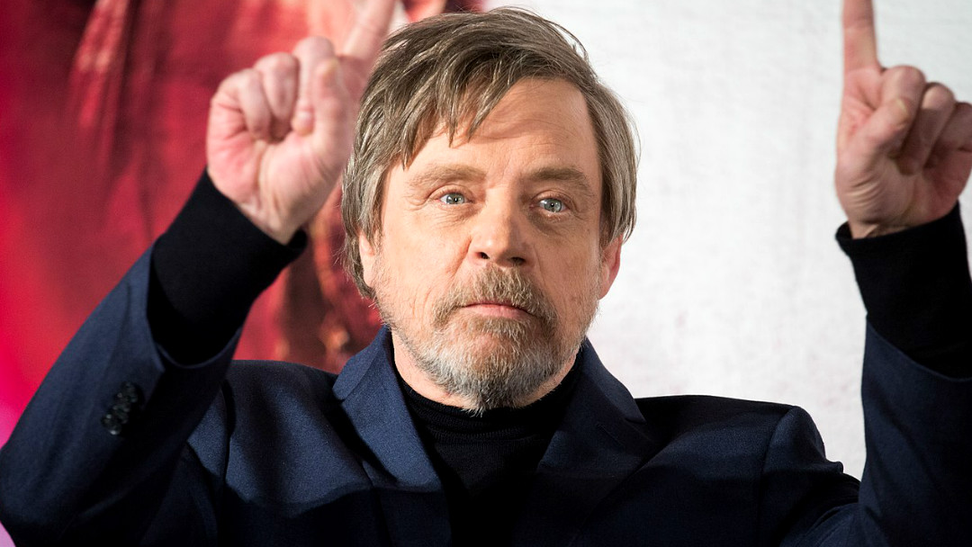 Mark Hamill, el actor que interpeta a Luke Skywalker