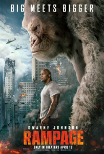 rampage-pelicula-movie-review-reseña-critica-Dwayne-johnson-poster