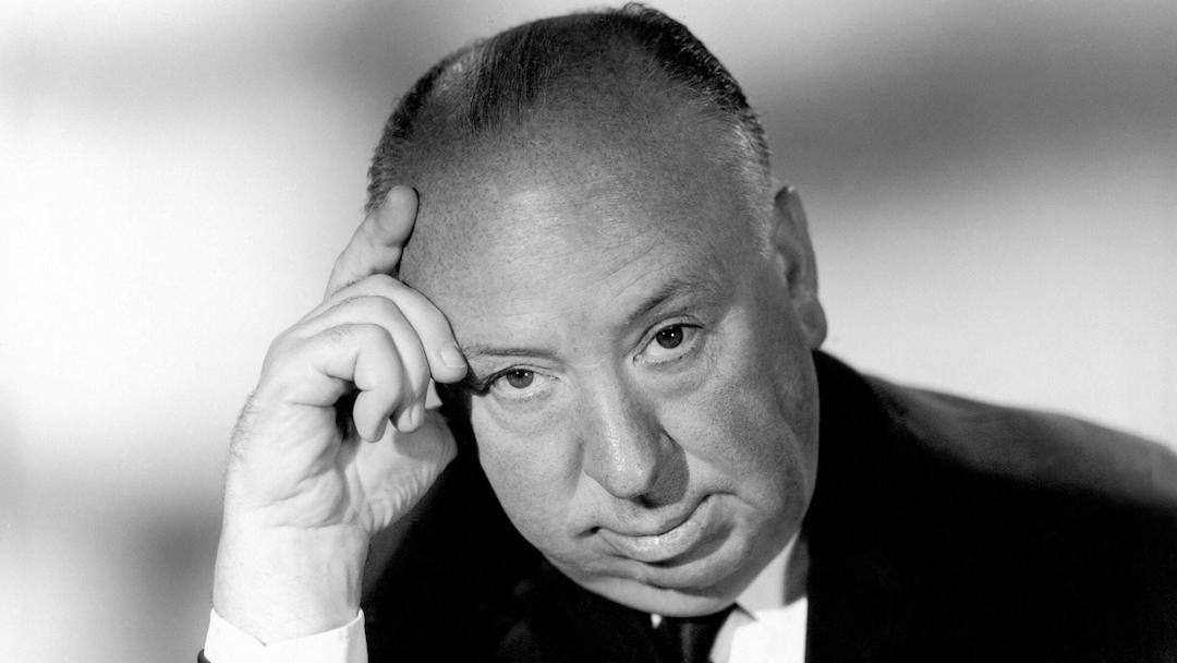 Imagen del amo del suspenso, Alfred Hitchcock