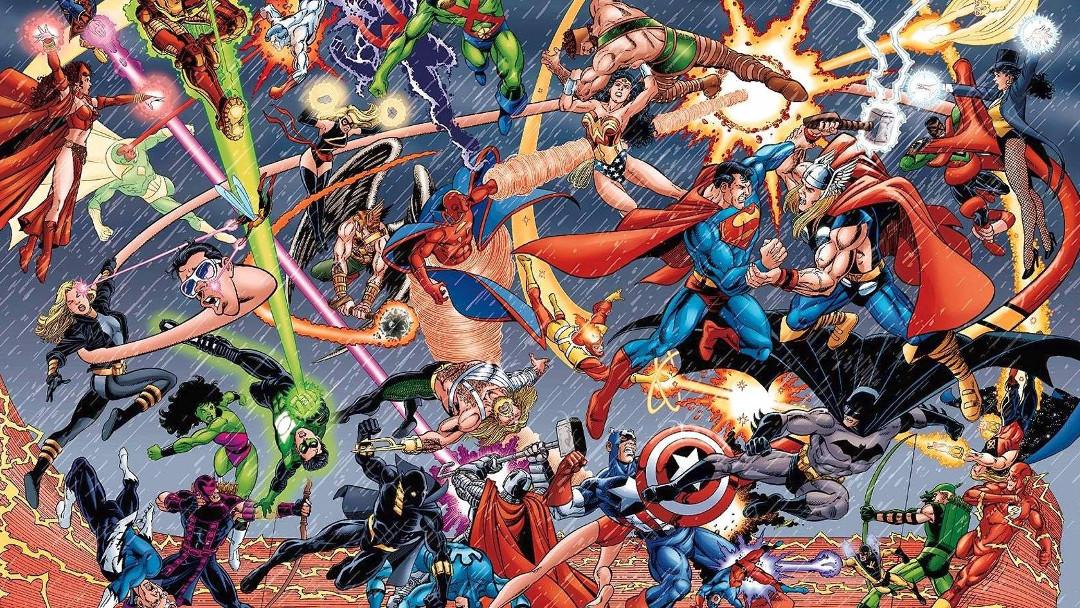 Marvel y DC Comics tuvieron un nuevo crossover y casi nadie lo notó