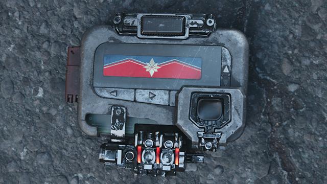 Beeper que Nick Fury usa en Infinity War