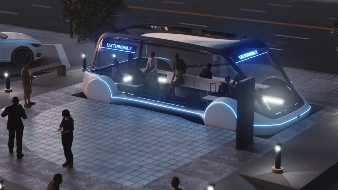 The Boring Company-The Loop-Los Angeles