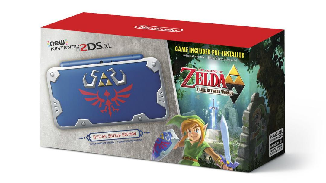 Nintendo lanzará una edición de la 2DS basada en Zelda