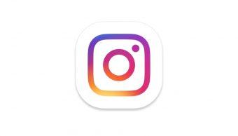 El famoso logo de la app Instagram