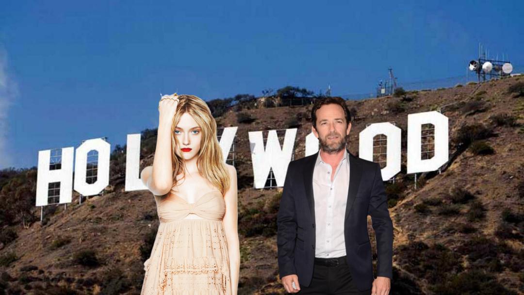 Luke Perry y Dakota Fanning en nueva película de Tarantino