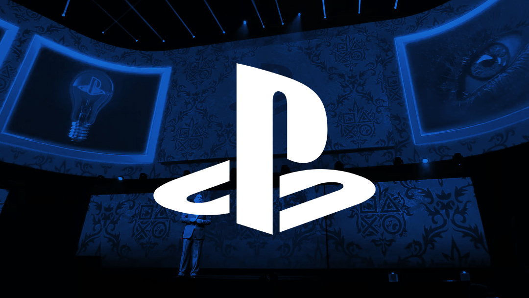 El logo de Playstation Sony Conferencia E3 2018