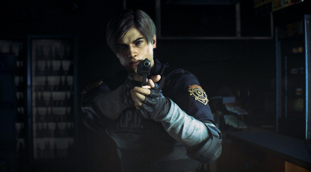 resident evil 2 remake e3 2018