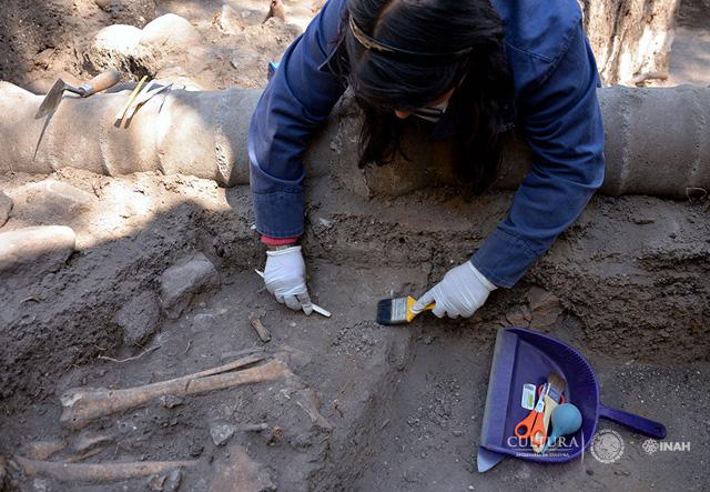 ruinas localizadas en Chapultepec de 1500 años
