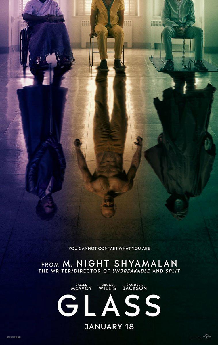 Poster de Glass, la nueva película de M. Night Shyamalan