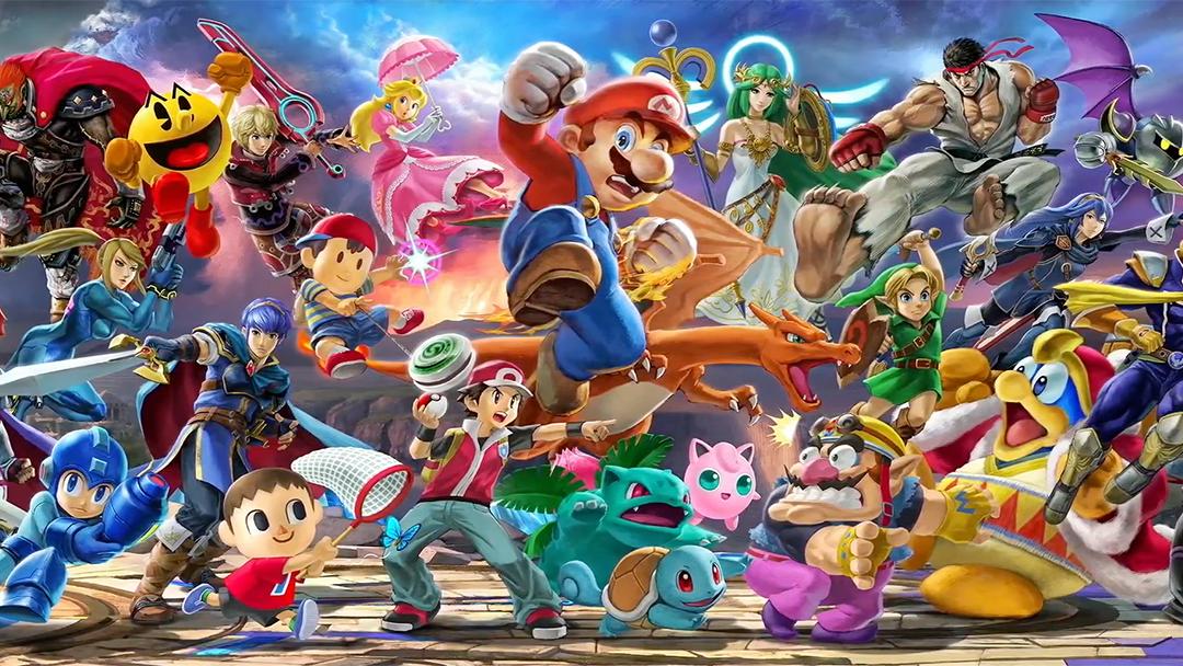 El nuevo Super Smash Bros. Ultimate llegará en diciembre
