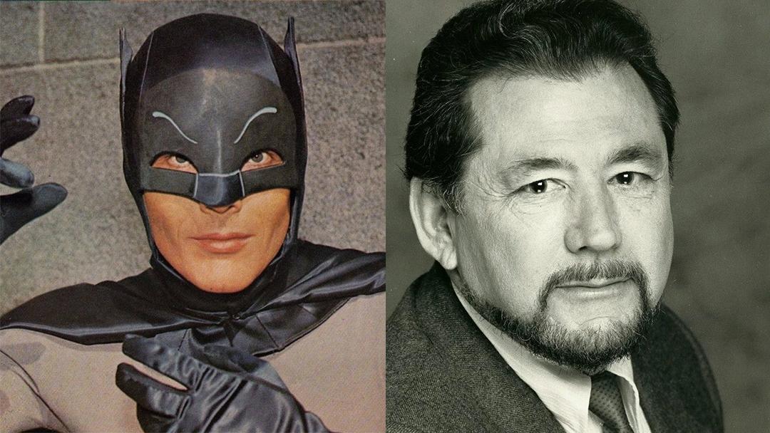 Batman Adam West y Guillermo Romano