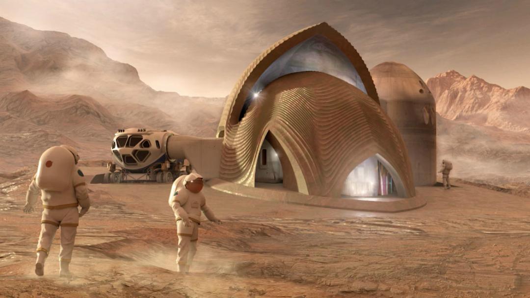 Así son las casas en Marte que podría construir la NASA