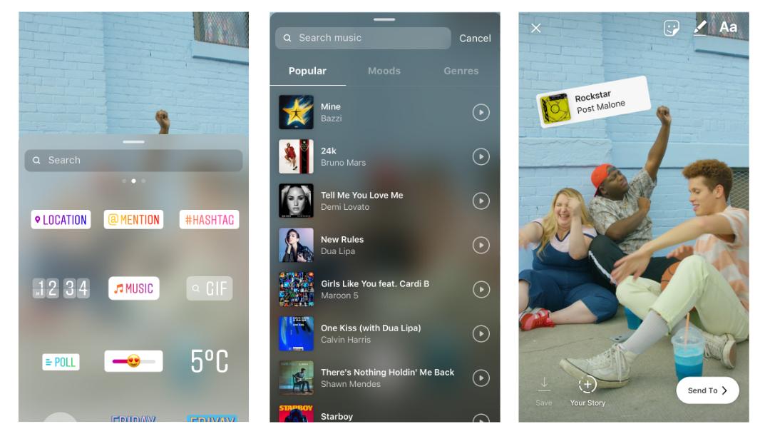 Así puedes agregar música a tus Historias en Instagram