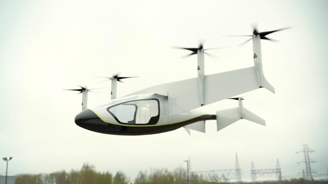Rolls-Royce anuncia su concepto de coche volador
